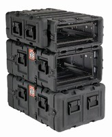 Rack Case features air- and water-tight design.