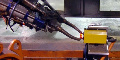 Inspection System monitors spot welding electrodes.