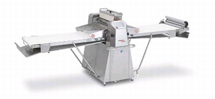 Dough Sheeter offers belt speed of 85 cm/sec.