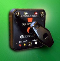 electroswitch unit of electro switch corp serial lock out relay provides remote trip and reset