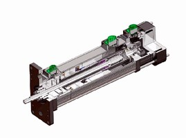 Linear Actuators offer built-in force sensing option.