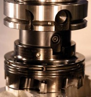 Milling Cutter operates at speeds to 20,000 sfm.