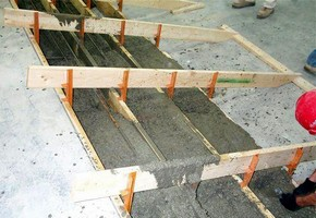 Concrete Stair Aligner promotes jobsite productivity.