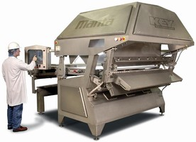 High-Volume Sorter is modular and fully self-contained.