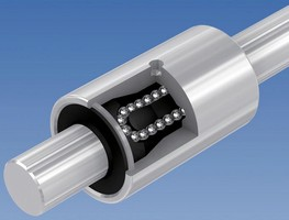 Linear Guide Ball Bushings are optimized for smooth motion.