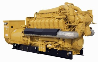 Natural Gas Generator Set provides power independent of grid.