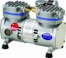 Oil-Free Vacuum Pump has compact and lightweight design.