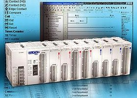 Micro Brick PLC features compact, expandable design.