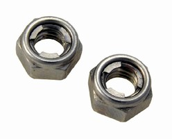 Self-Locking Nuts resist vibration and loosening.