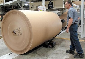 Power Mover will not damage outer layers of newsprint rolls.