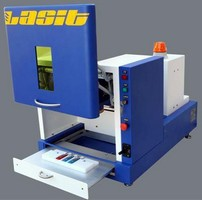Fiber Laser Marking System offers joystick control.
