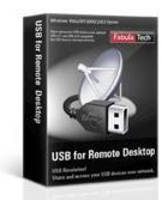 Software accesses local USB devices in remote session.