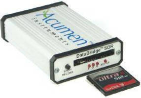 RS-232 Data Logger captures serial data from devices.
