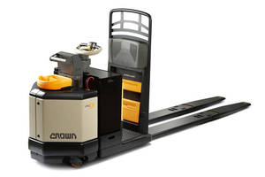 Pallet Truck features electronic power steering.