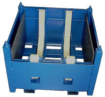 Self-Unloading Containers are used with rods and tubes.
