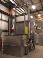Horizontal Heat Treating System suits aerospace industry.