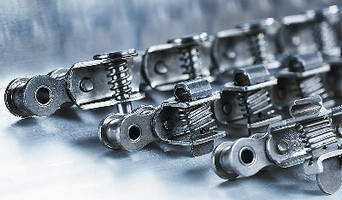 Grip Conveyor Chains ensure gentle handling.