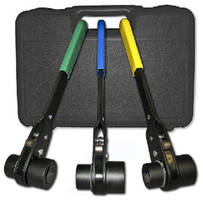 Double Socket Ratchet Wrenches suit heavy-duty applications.