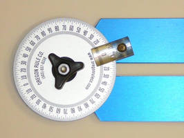 Dual Arm Protractors offer 18 and 36 in. swing arms.