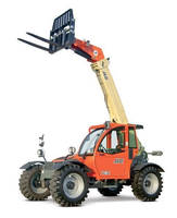 Telehandlers provide 6,000 and 7,000 lb capacities.
