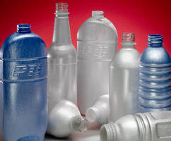 Blow Molding produces lightweight foamed PET containers.
