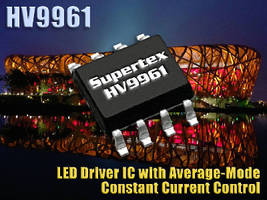 LED Driver IC features constant current control.
