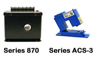 AC Current Detectors come in clamp-on and pass-thru models.