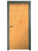 Wood Acoustic Doors include raceway conduit.