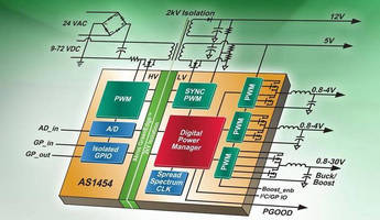SoC targets isolated DC-DC power applications.