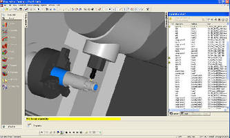 CAM Software aids in feature-based machining.