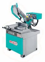 Semi-Automatic Horizontal Bandsaw simplifies setup/operation.