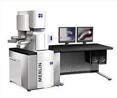 Electron Microscope combines high resolution and analysis.