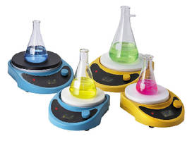 Digital Magnetic Stirrers offer 30-2,000 rpm speed range.