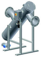 High-Flow Strainer conserves fluids and protects equipment.