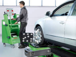 3D Wheel Alignment System simplifies mechanics' duties.
