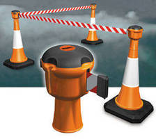 Retractable Barrier suits high traffic areas.