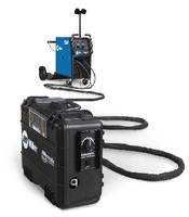 Dual Wire Feeder extends work area of welders.
