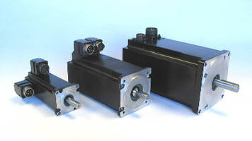 Brushless servo motors come in 3 nema frame sizes for Servo motor frame sizes