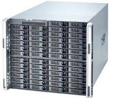 Enterprise Storage System provides 100 TB capacity.