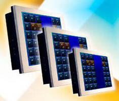Touchscreen Panel PCs offer fanless operation.