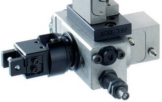 Gripper Rotary Unit holds very small components.