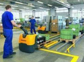 Pallet Truck suits light and medium-heavy operations.
