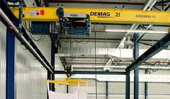 Overhead Traveling Cranes offered with rope hoist.