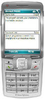 Translation Software works with Symbian S60 smartphones.