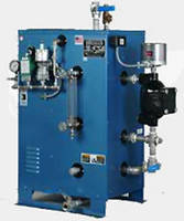 Electric Steam Boiler incorporates safety features.