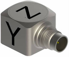 Triaxial Accelerometers facilitate modal analysis testing.