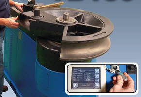 Rotary Draw Tube/Pipe Bender offers PLC touchscreen control.