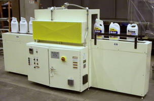 Electric IR Conveyor Oven aids in bottle recycling.