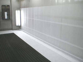 Dirt/Dust Trapping System improves paint booth performance.