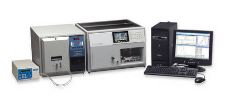 Gel Permeation/Size Exclusion Chromatography Array measures molecule, polymer viscosity.